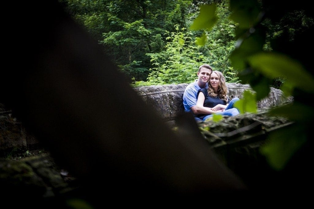 Jesmond Dene Pre wedding shoot | Hayley & Gary