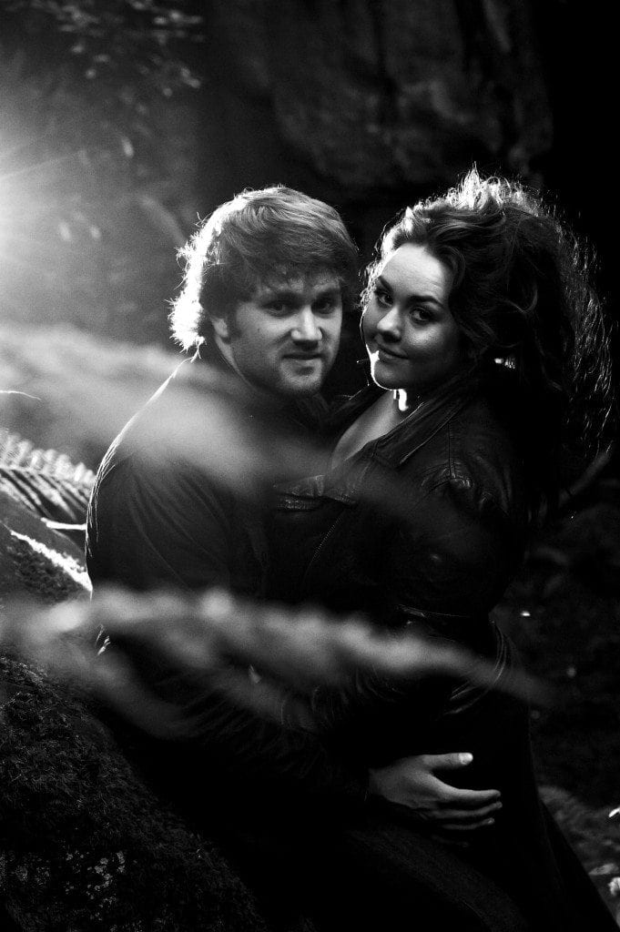 Jesmond Dene Pre Wedding shoot with Jade & Scott by Newcastle wedding photographer Leighton Bainbridge