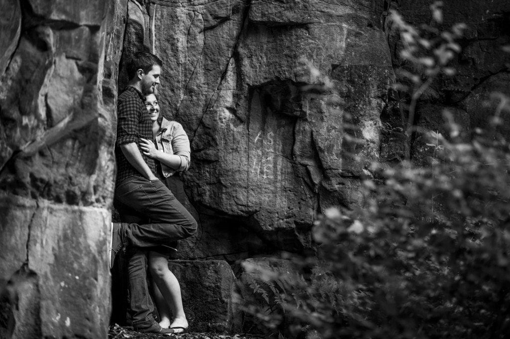 Jesmond Dene was the location of choice for Christina & Shaun's Pre wedding shoot in Newcastle. Photographed by Newcastle Wedding Photographer Leighton Bainbridge