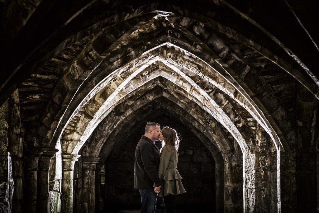 finchale abbey pre wedding photography | Dawn & Trevor_10