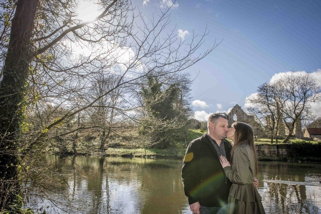 finchale abbey pre wedding photography | Dawn & Trevor_16