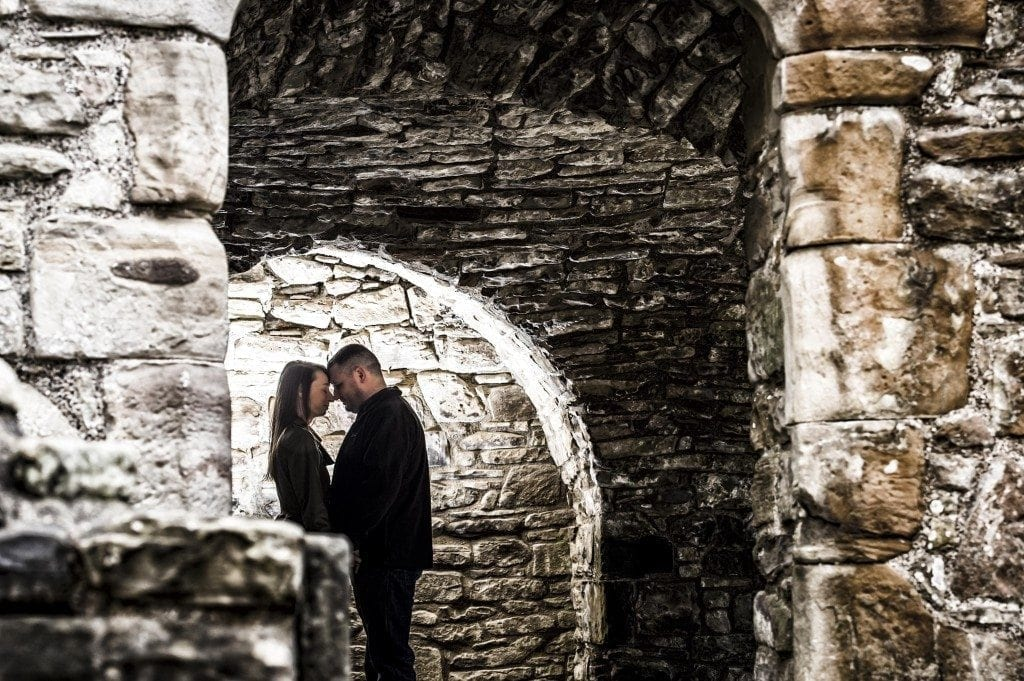 finchale abbey pre wedding photography | Dawn & Trevor_4