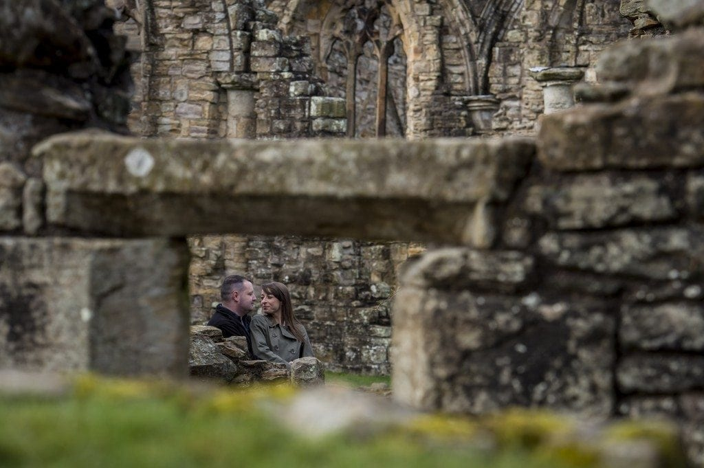 finchale abbey pre wedding photography | Dawn & Trevor_6