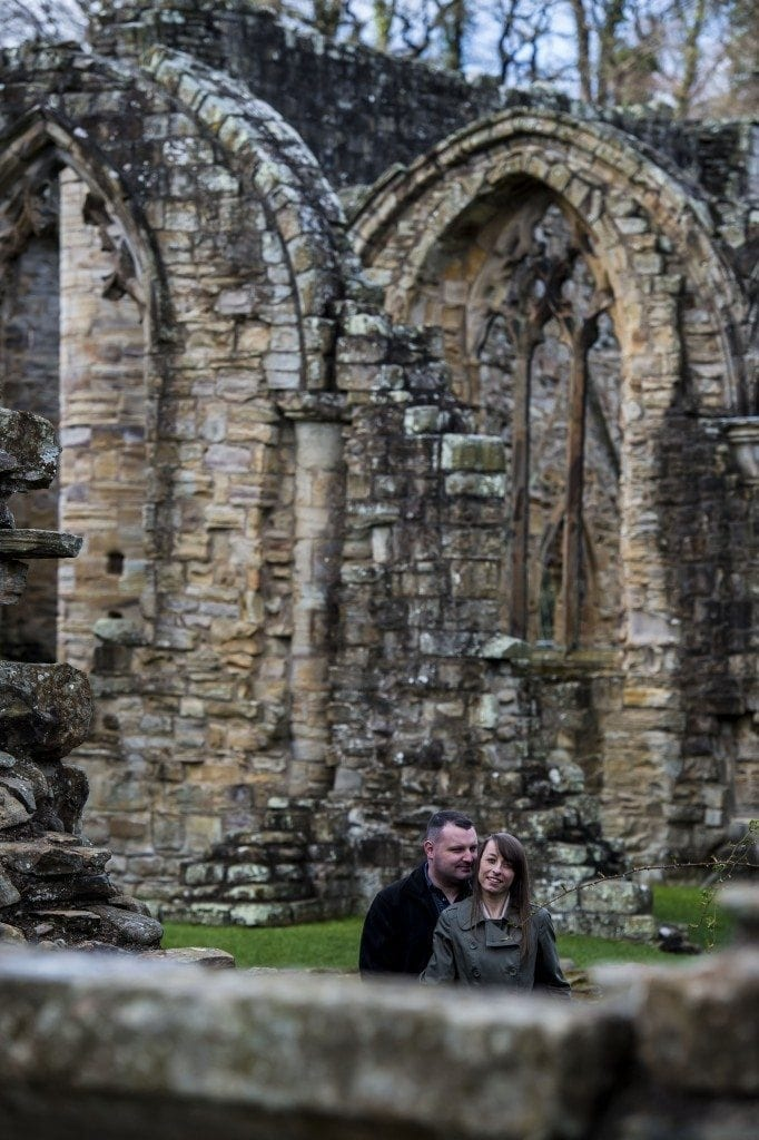 finchale abbey pre wedding photography | Dawn & Trevor_8