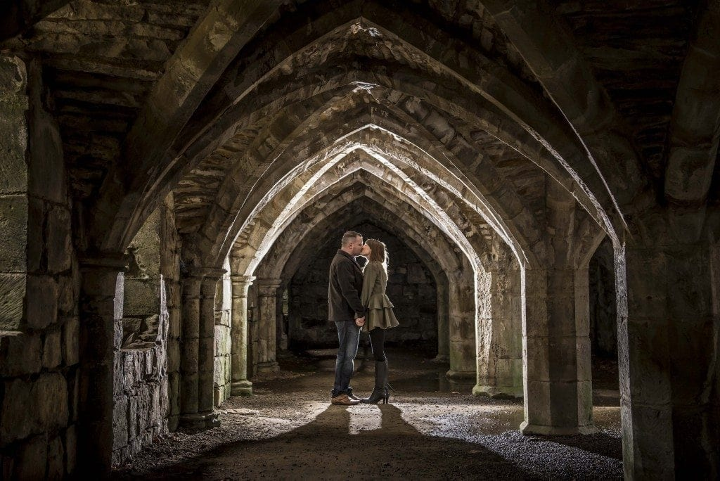 finchale abbey pre wedding photography | Dawn & Trevor_9