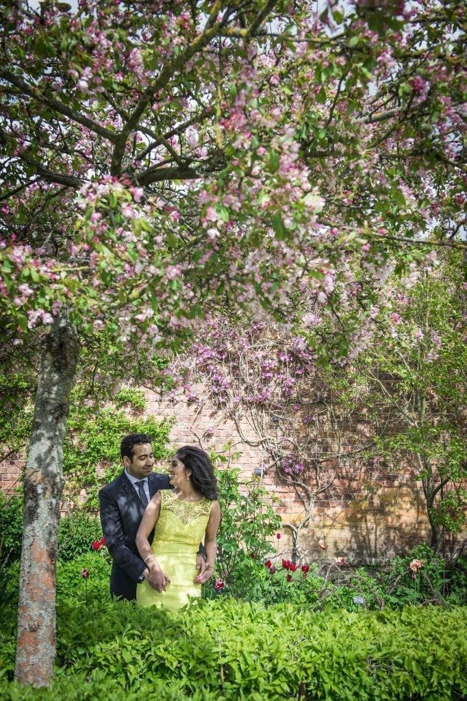 alnwick gardens wedding photography for Anjali & Rajan's pre wedding shoot in newcastle and northumberland wedding