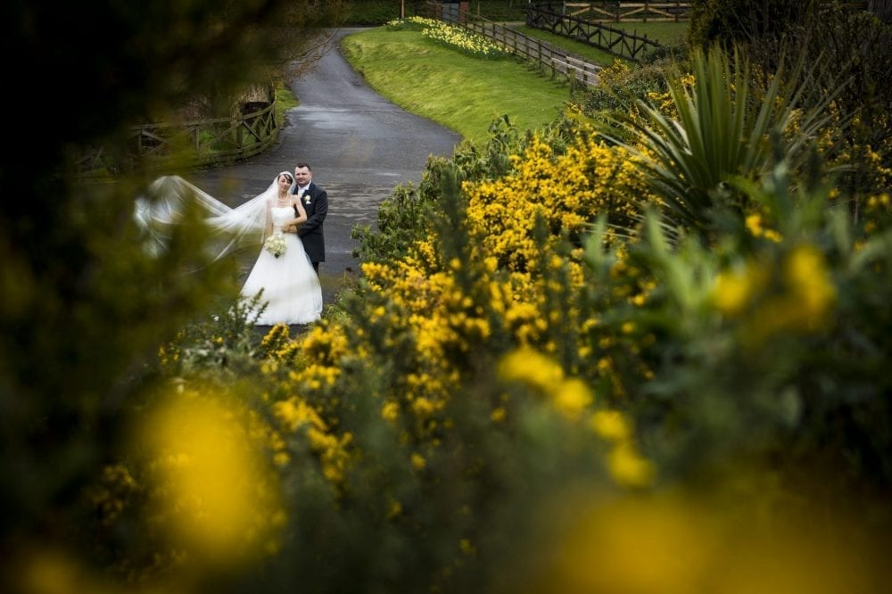 South Causey Inn wedding photography for the gorgeous wedding of Dawn & Trevor a mixed day weather wise for a Durham Wedding