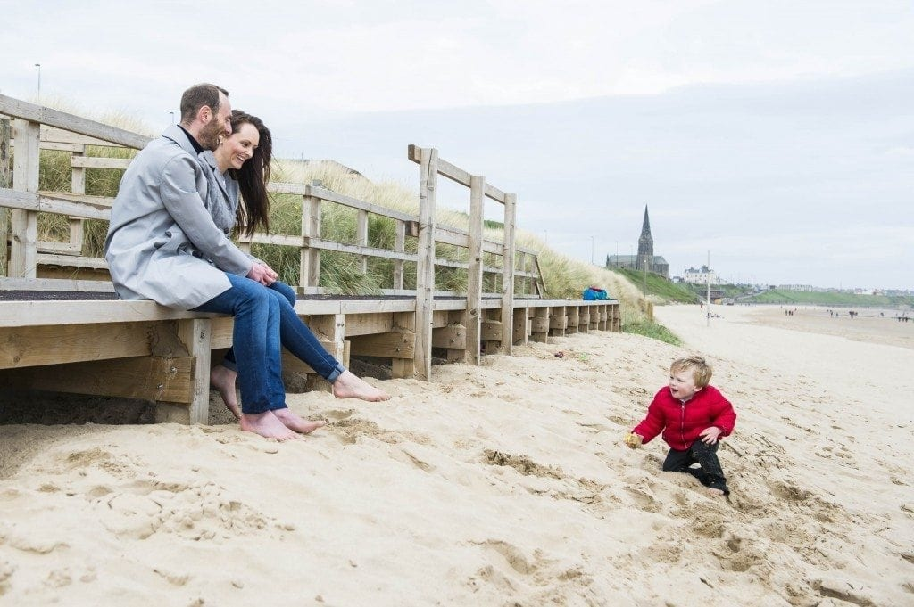 Tynemouth Wedding Photographer Leighton Bainbridge was Photographing a Tynemouth pre wedding shoot with Kirsty & Paul just outside of newcastle wedding