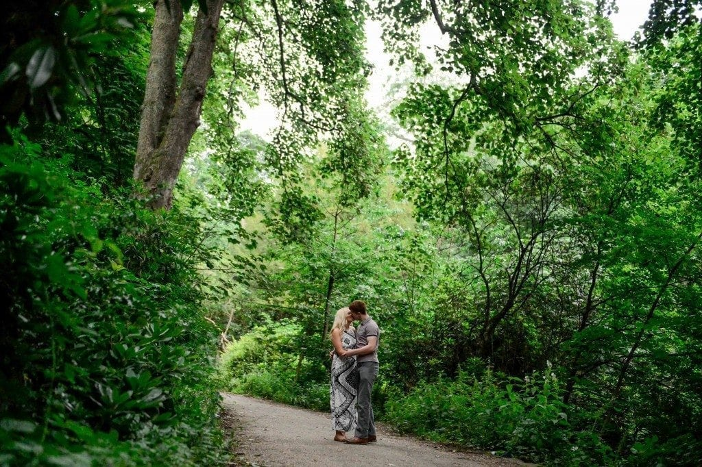 Jesmond dene is the perfect location for a pre wedding shoot in newcastle. It's even better when you get to photograph a couple like siobhan and andrew. Newcastle wedding photographer Leighton Bainbridge was the photographer for today