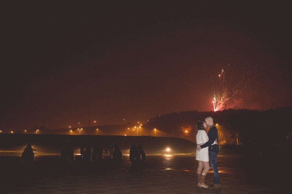 A great pre wedding shoot in south shields on bonfire night with Mark & Sarah, newcastle wedding photographer Leighton Bainbridge taking the photosA great pre wedding shoot in south shields on bonfire night with Mark & Sarah, newcastle wedding photographer Leighton Bainbridge taking the photos