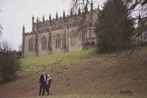 A gorgeous pre wedding shoot at Auckland Castle, some stunning scenery only complimented with Fiona and Ben, photographed by Durham Wedding photographer Leighton Bainbridge