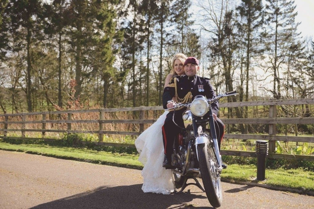 A gorgeous northumberland wedding set on stunning grounds of Sean + Becca's Aunty's house