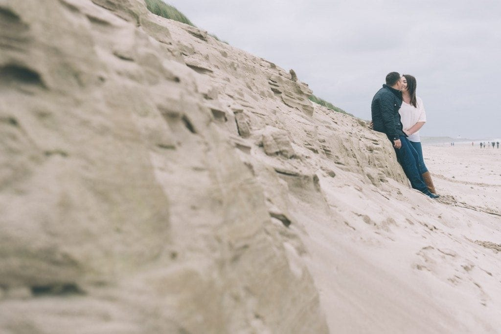 newcastle wedding photographer leighton bainbridge was at bamburgh castle for a gorgeous pre wedding shoot with the awesome Kirsty & Ryan