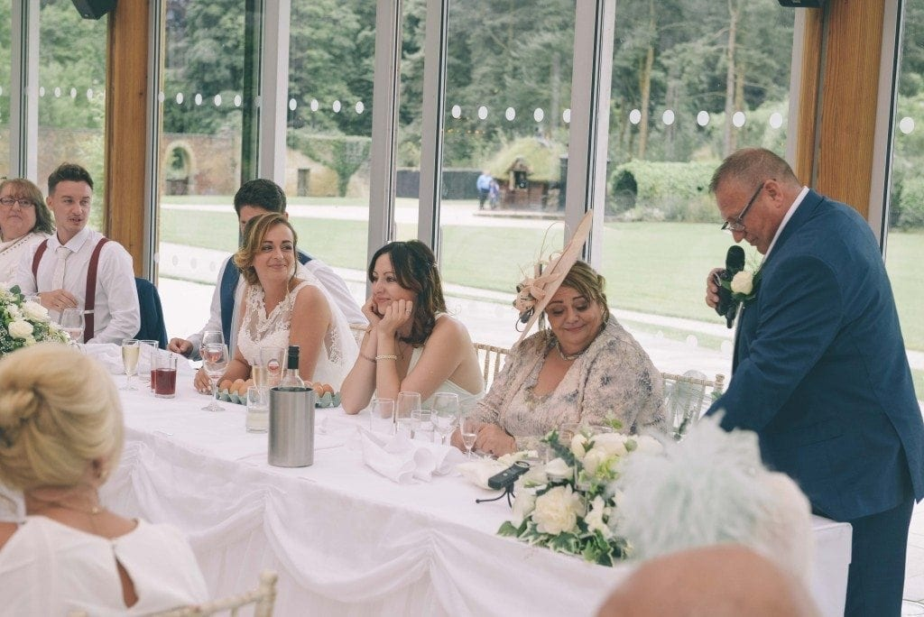 the perfect wedding at alnwick garden's for the marriage of Nicole & Gareth