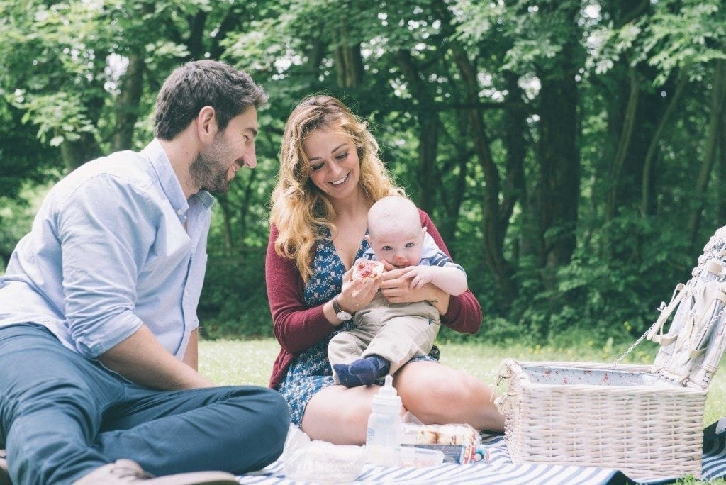 A gorgeous pre wedding shoot in durham with the very awesome Nicole and Gareth and not forgetting baby Noah at the pre wedding location Causey Arch