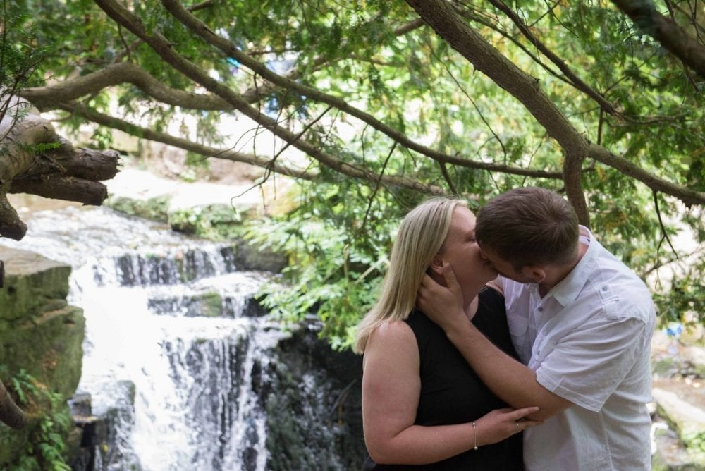 A lovely pre wedding shoot in Jesmond Dene with Joanne and Brian looking forward to their wedding at the Ramside