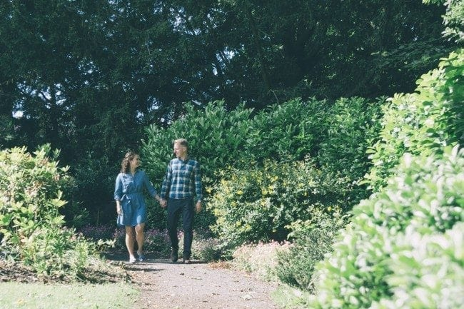 Sophie & Matthew's Pre Wedding photography at Gibside Hall in Newcastle, photography was awesome with these two and weather could not have been better