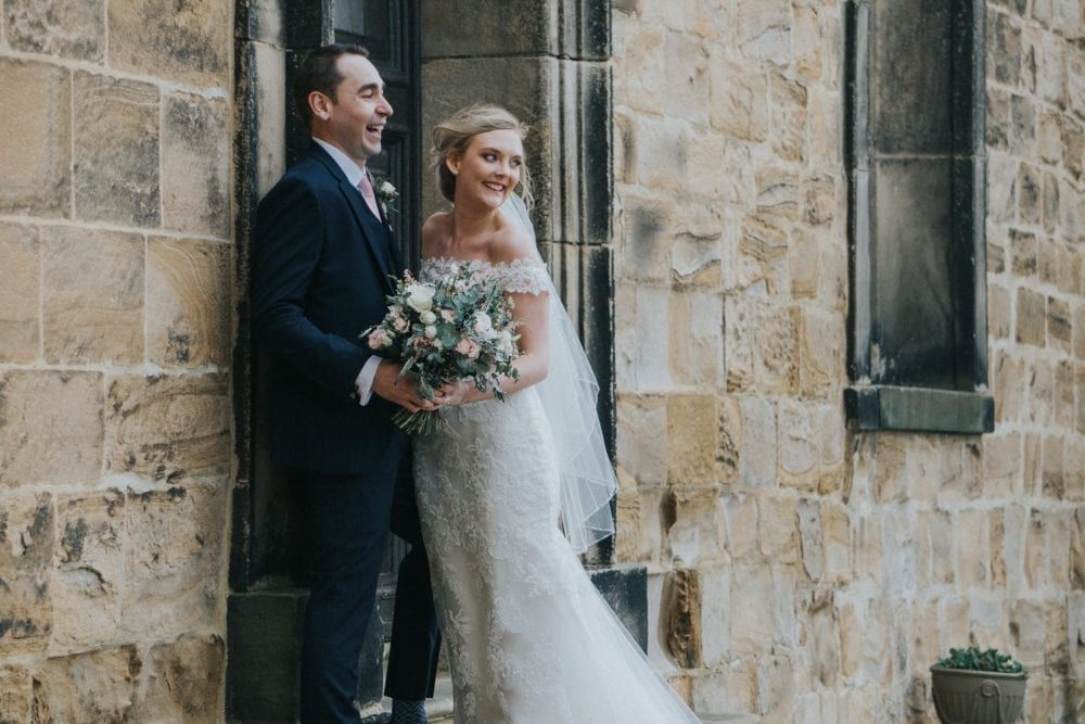A beautiful lumley castle wedding for Jane and chris. photography by newcastle wedding photographer Leighton Bainbridge
