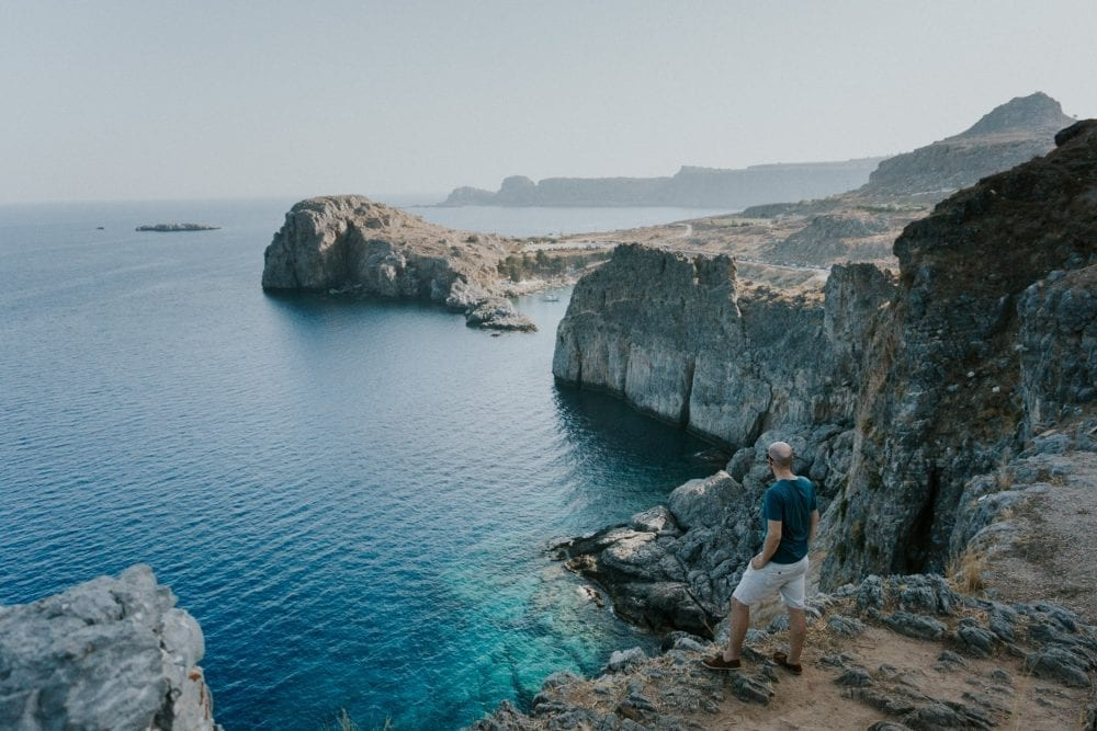 Destination wedding photography with Lindos Wedding photographer Leighton Bainbridge Photography