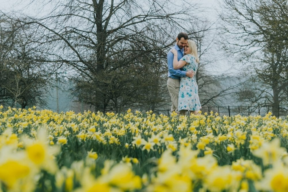 Belsay Hall photography for pre wedding shoot with the awesome Alice & David