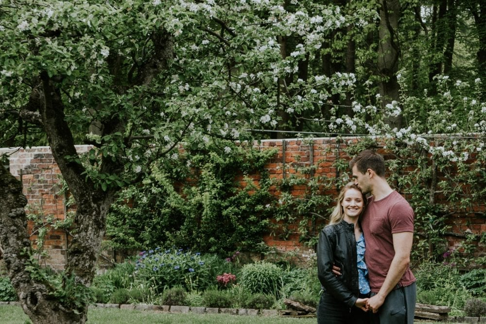 A wonderful pre wedding at Shotton Grange with Leyla & Adam