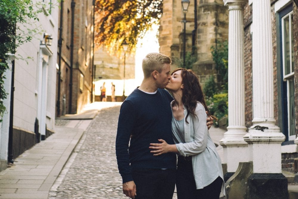 A gorgeous pre wedding photography in Durham City with Rebecca & Andrew