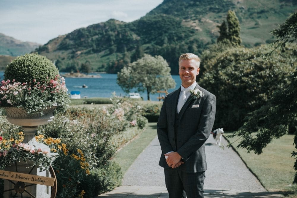 inn on the lake wedding, Glenridding. for the beautiful wedding photography of Rebecca & Andrew
