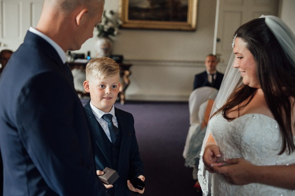 a beautiful wedding at Lumley Castle with the amazing Sandra & Mark