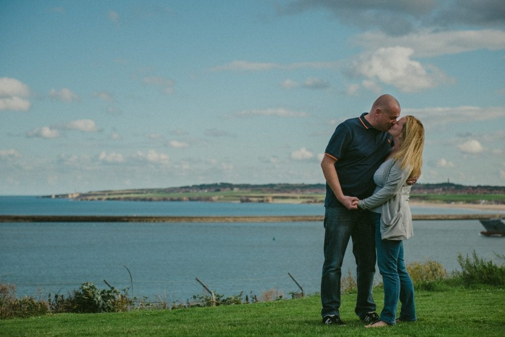 what an awesome pre wedding photography in tynemouth with Kirsty & Mark. with tynemouth photographer Leighton Bainbridge