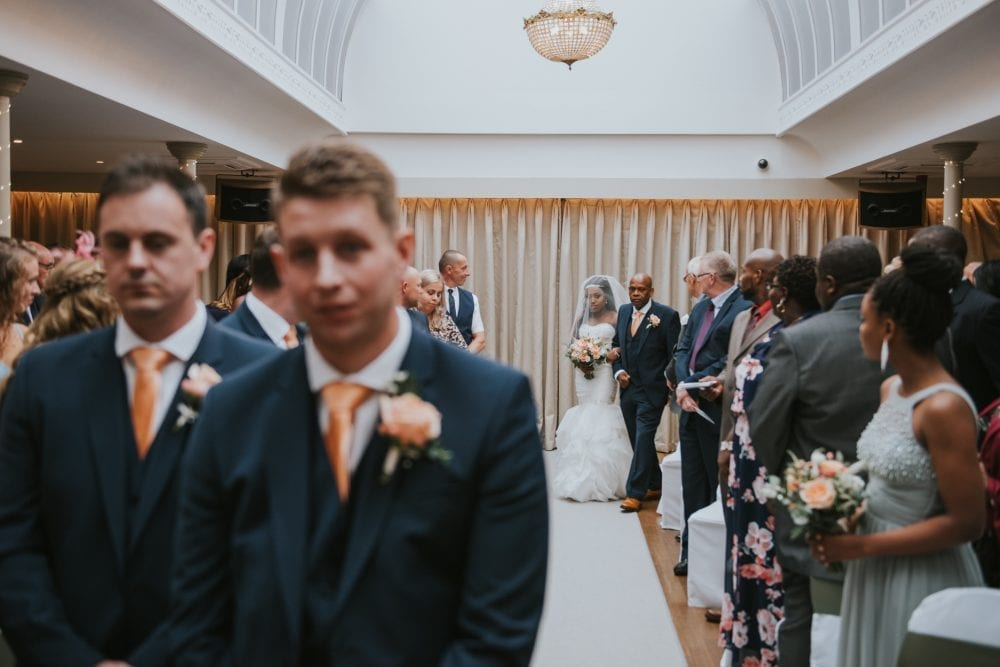 Headlam Hall Wedding photography for Loriea & Peter's perfect day. Photographed by Durham wedding photographer Leighton Bainbridge