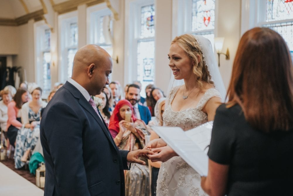 The stunning wedding at the county hotel Newcastle with Esther & Ehsanul with newcastle wedding photographer Leighton Bainbridge