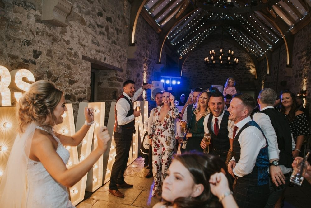 A fantastic wedding at Healey Barn with Sam and Stu. with Newcastle wedding photographer Leighton Bainbridge