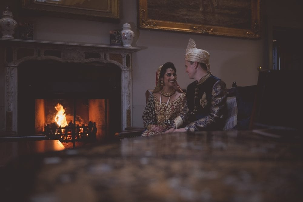 a stunning Linden Hall asian wedding photography for Anum & Jamal beautiful day with Newcastle Wedding photographer Leighton Bainbridge