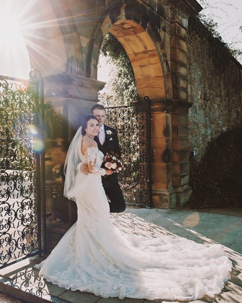 Check out Newcastle weddingphotographer, Leighton Bainbridge with this stunning wedding in alnwick gardens