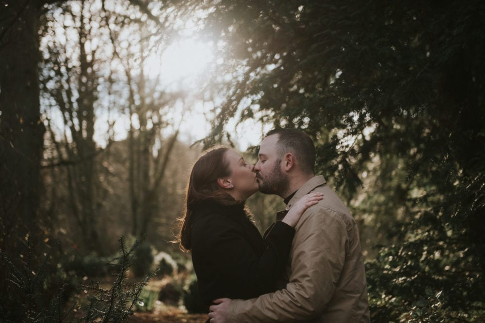 The perfect pre wedding shoot in Hardwick Park with Sarah & Mark ready for the wedding day photography in Durham