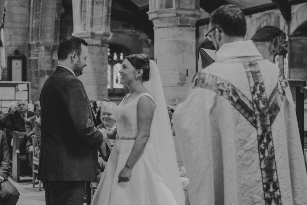 Sarah & Marks stunning wedding at Bowburn Hall, photographed by Durham Wedding Photographer Leighton Bainbridge