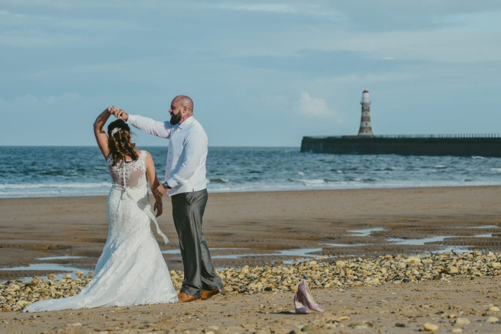 the stunning wedding at Roker Hotel and wedding at South Shields town hall for Leanne & Eric's wedding with Sunderland Wedding Photographer, Leighton Bainbridge