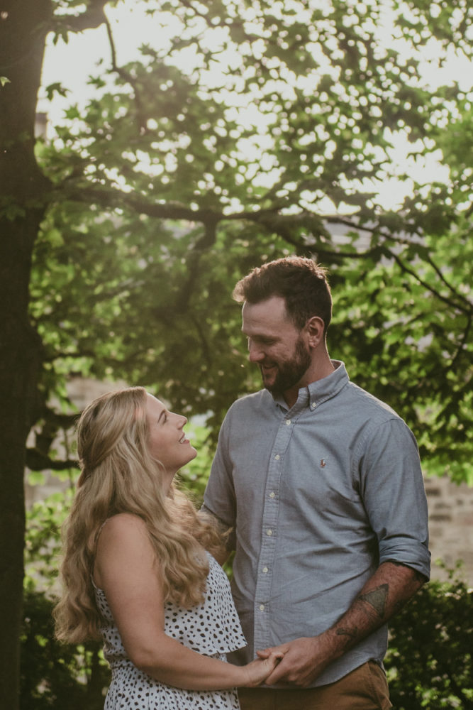 a stunning Newcastle Pre wedding shoot with Sophie & Dominic in sophie's parents awesome garden