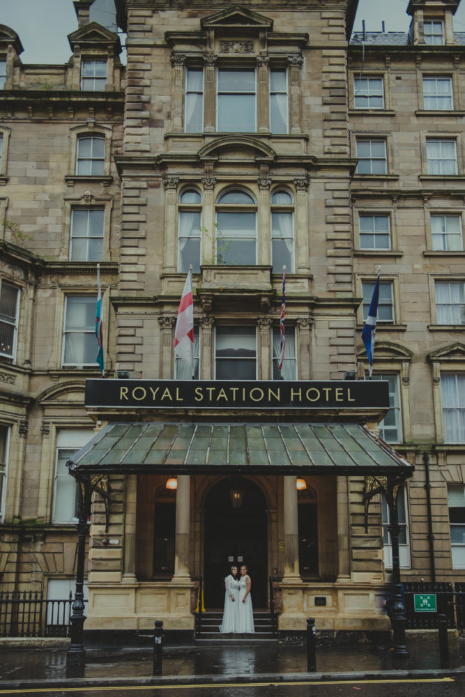 The stunning Royal Station Hotel Wedding Newcastle with the beautiful Kelly & Joanne