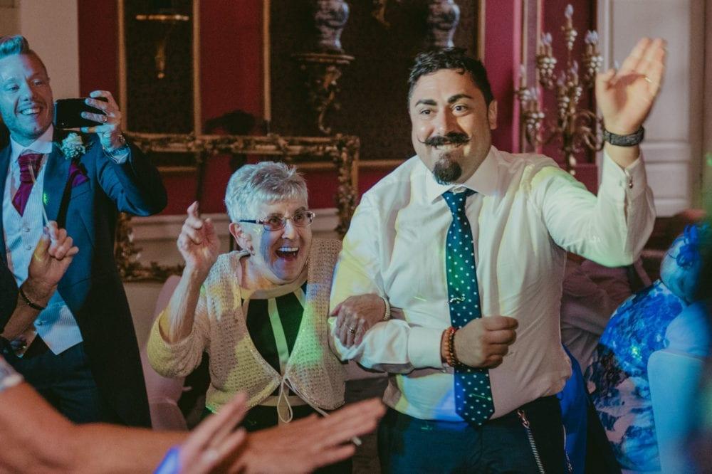 A beautiful Lumley Castle wedding photography with Giorgio & Simona