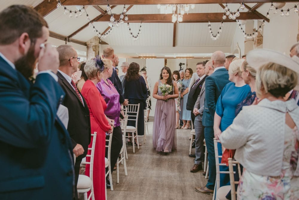 This Shotton Grange wedding was stunning, full of emotion.