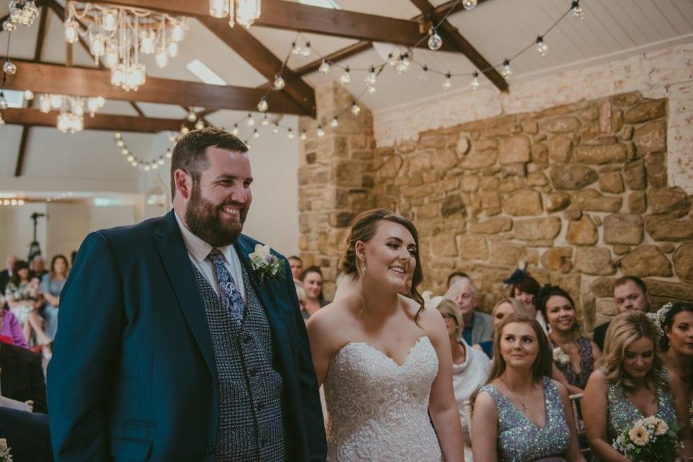 This Shotton Grange wedding was stunning, full of emotion.