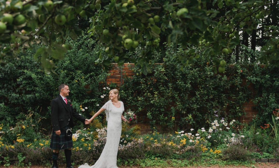 a beautiful wedding at Shotton Grange with Wendy & Peter