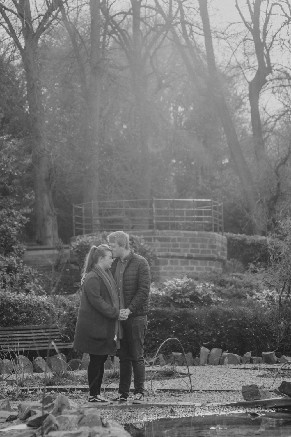 Saltwell Park pre wedding shoot with the gorgeous Niall & Helen. The star of the pre wedding shoot in Saltwell Park though was the adorable Lily.