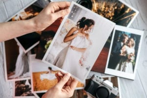 what does a wedding photography package include?