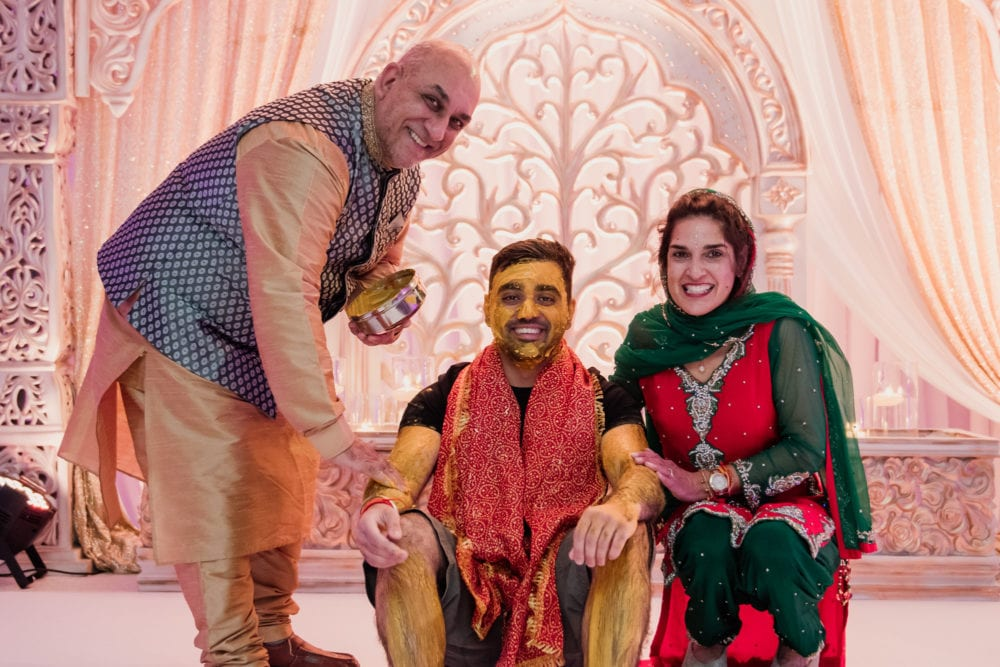 Ajay's santh ready for hindu wedding