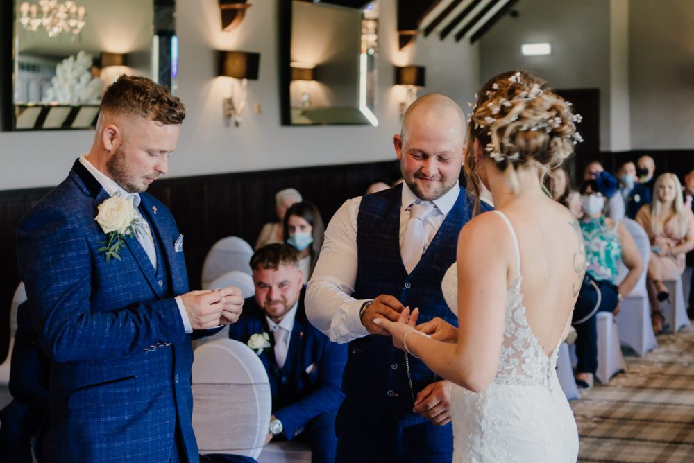 an amazing Derwant Manor wedding with Vicky & Callum
