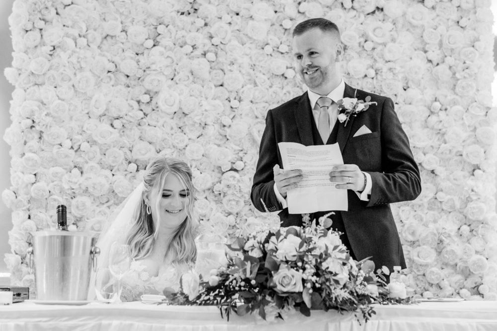 amazing Hollins Hall Hotel Wedding with Sarah & Luke