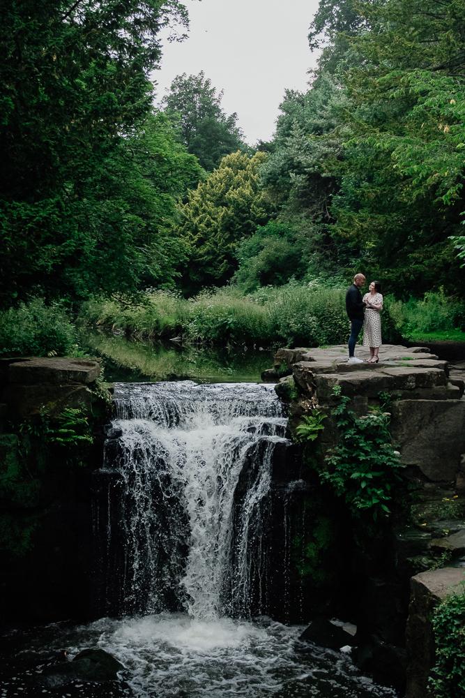 awesome pre wedding photography at Jesmond Dene with James & Nicola