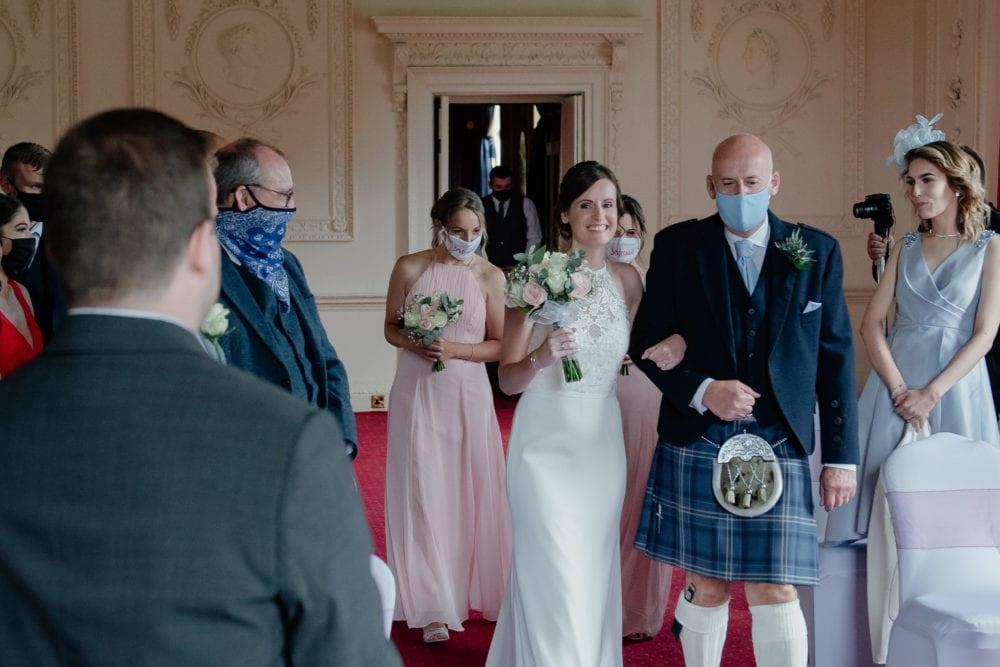 Lumley Castle Wedding with Lisa & Luca